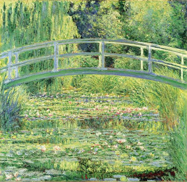 Monet - Waterlily Pond - 1899