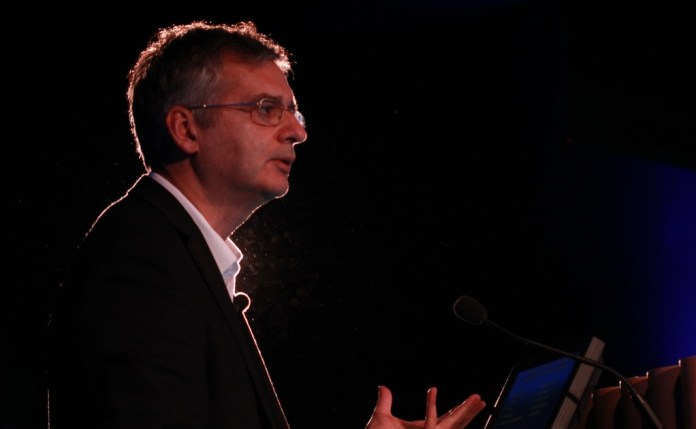 O Professor Andres Lozano (fotografia: PEdro Monteiro Palma/Luís Rodrigues)