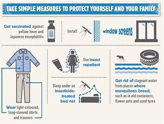 Campanha da OMS - Prevenção das doenças transmitidas por vetores