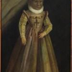 Maddalena Gonsalvus, sob o pincel de um artista alemão desconhecido (circa 1580). Este e outros retratos da família encontram-se na Câmara das Artes e das Curiosidades do Castelo de Ambras, Áustria, o que motivou o epónimo de síndrome de Ambras para a hipertricose congénita generalizada.