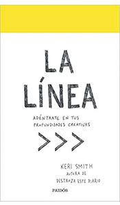 revistas literarias españolas. la linea. libro. keri smith