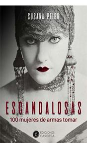 foto portada del libro Escandalosas en la Revista literaria Galeradas