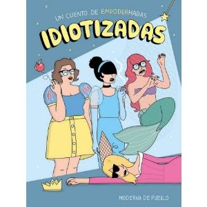 Revista Literaria Galeradas. Portada Idiotizadas
