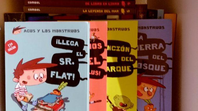 Revista Literaria Galeradas. Colección Agus y los monstruos