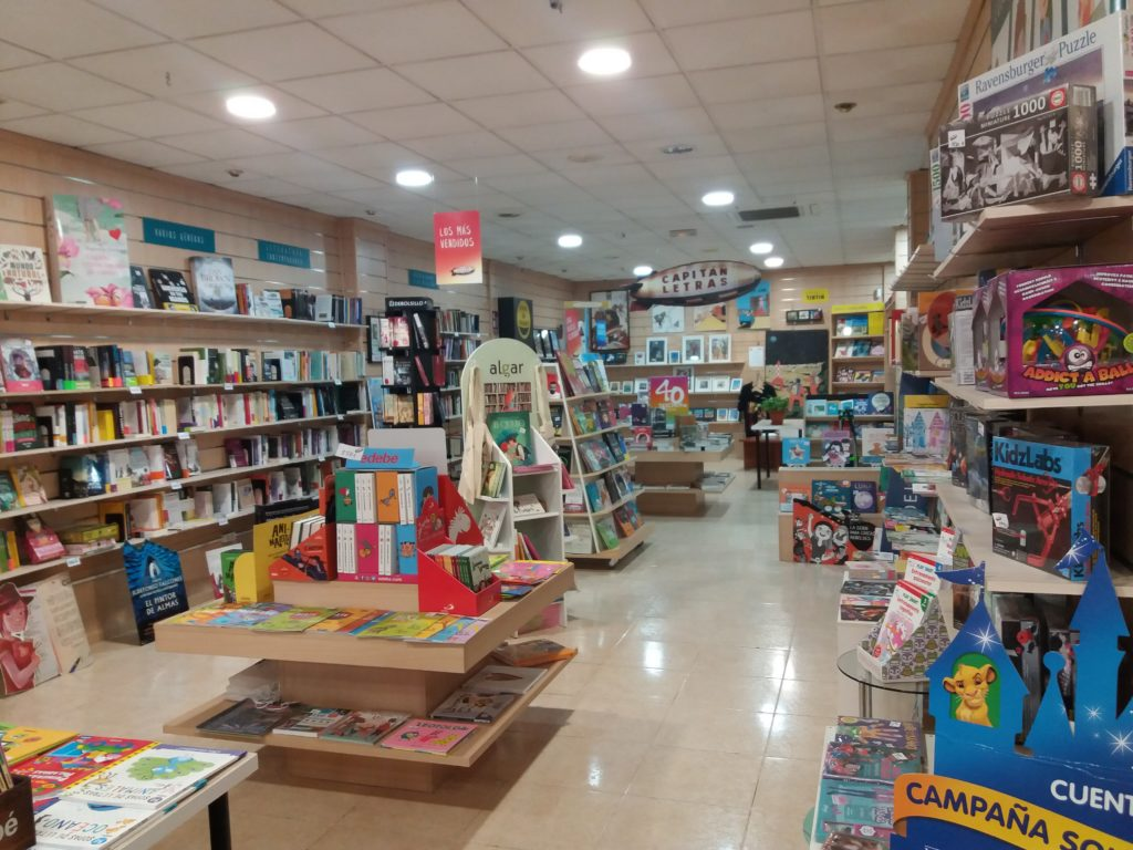 Revista Literaria Galeradas. Librería