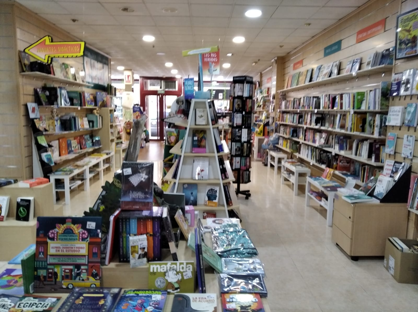 Librerías con encanto de Madrid