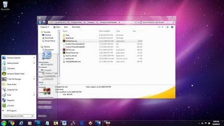 Galeria de temas para Windows 7