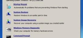 Reparar Windows 7 con Windows 7 System Recovery Discs