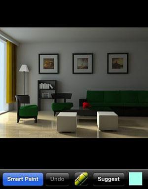 Aplicativo de decoração reúne opções de ambientes para inspirar o morador no planejamento do ambiente (Foto: Reprodução)