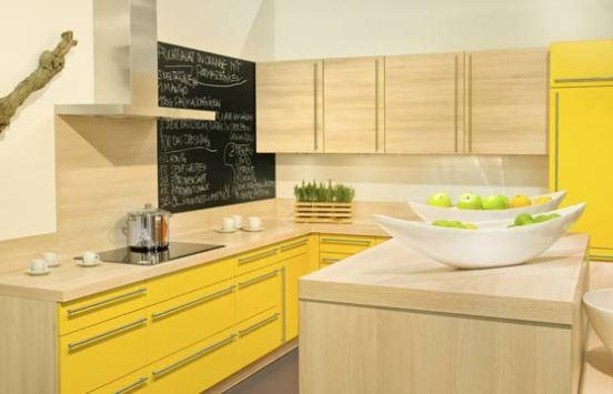 Na cozinha, a lousa cai bem e fica bonita com cores mais claras (Foto: Thinkstock)