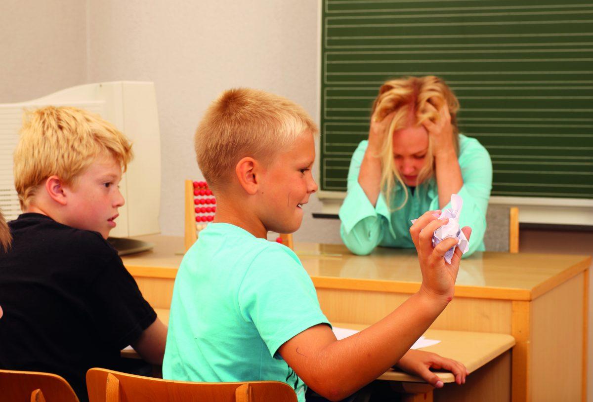 Burnout bei Lehrern