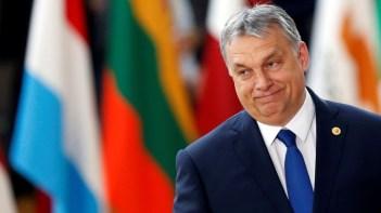 O Primeiro Ministro da Hungria Viktor Orban Crédito: REUTERS/Francois Lenoir.