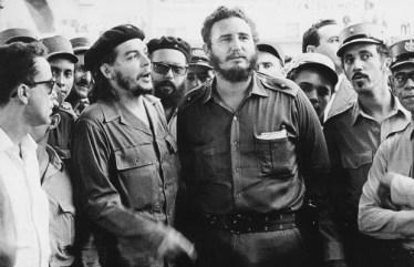 Che Guevara e Fidel Castro. Crédito: blogdogersonnogueira.com