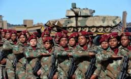 A África do Sul tem o maior número de mulheres em missões de manutenção da paz. Crédito: this is Africa/ GovernmentZA / / CC por 2.0