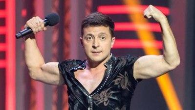 Vladimir Zelenskii, atual presidente eleito da Ucrânia é ator e comediante. Crédito: Facebook/Ynetnews.
