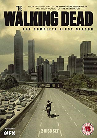 Poster do seriado The Walking Dead. Crédito: Amazon.