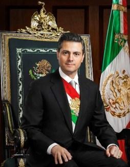 Enrique Peña Nieto, ex-presidente do México (2012-2018). Crédito: Official photograph of the President of México.