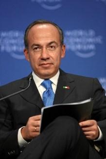Felipe Calderón, ex-presidente do México (2006-2012). Crédito: Remy Steinegger.