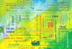 """""""Rio"""" Mixed on paper, 2015. Crédito: arquivo Hélio Vianna."""