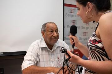 O presidente doSenge-RJOlimpio Alves dos Santos. Crédito: Mariana S. Brites/Revista Intertelas.