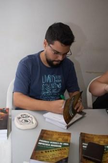 """Vinícius da Silva Ramos, um dos autores do livro """"A Grande Guerra Patriótica dos Soviéticos"""". Crédito: Mariana S. Brites/Revista Intertelas."""
