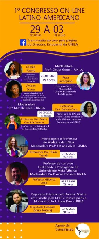 Crédito: Diretório Estudantil Latino-Americano da Universidade Federal da Integração Latino-Americana (UNILA).