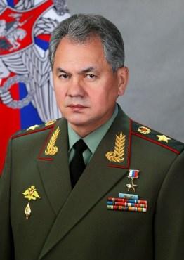 Ex-ministro da Defesa, General Sergey Choigu. Crédito: Wikipedia.