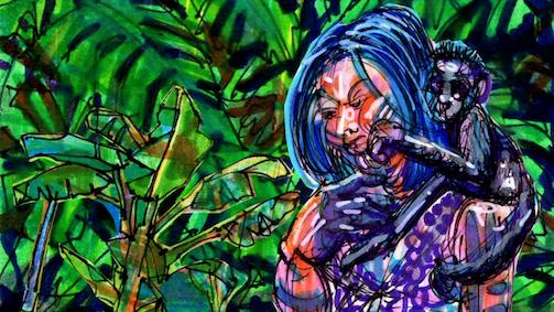 """""""Rasga Mortalha"""", de Thiago Martins de Melo (Curta Animação). Crédito: divulgação."""