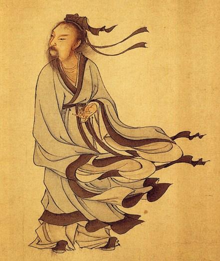 Lie Yukou ou Liezi, oi um filósofo taoista chinês e autor de Tratado do Vazio Perfeito. Crédito: reprodução da internet.