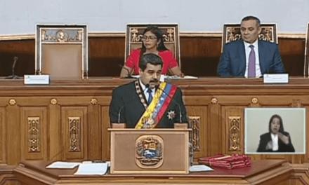 Nicolás Maduro anuncia un nuevo paquetes de medidas económicas.