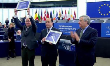 Premios Sàjarov: la UE y la hipocresía pacifista.