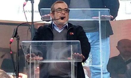 Declaración de Timochenko. Farc hace lanzamiento de su partido político.