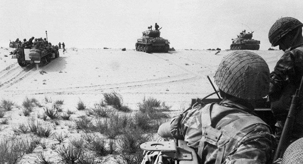 Guerra en el Sinaí (AFP) Israel