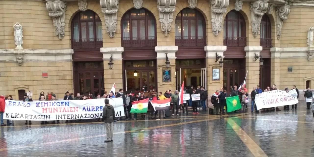 Solidaridad con Siria desde Euskal Herria.