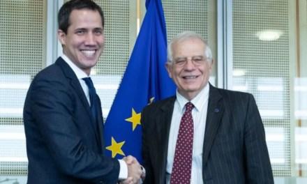 El perro Guaidog y la política imperialista europea