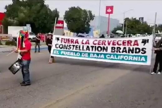 """La lucha por el agua en Mexicali: La transnacional depredadora """"Constellation Brands"""""""