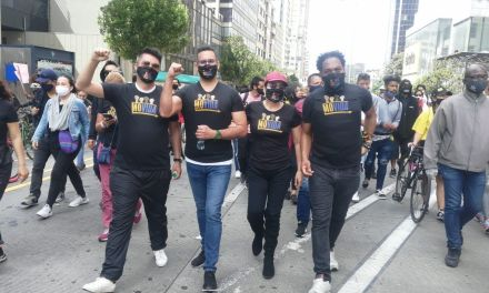 MoVida denuncia brutal intervención del ESMAD en la movilización desarrollada en Bogotá