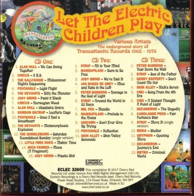 Let The Electric Children Play - The Underground Story of Trasatlantic Records