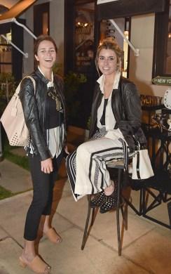 Clarita Anchorena y Chiara Deffeminis.