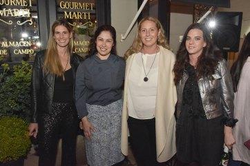 Sol Campos, Ana, Leticia Pena y Lucía Jalife.