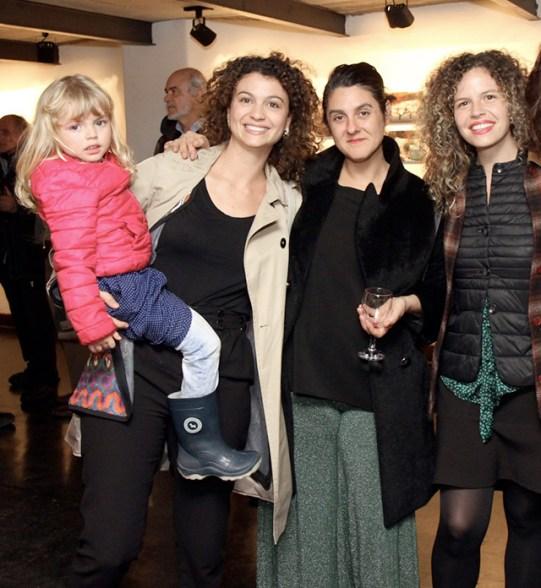 Maia , Belén y Paz Romero junto a Cecilia Lucas