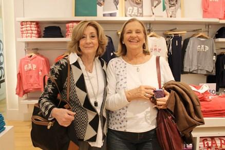 Lourdes Cadenas y Mónica Bouza
