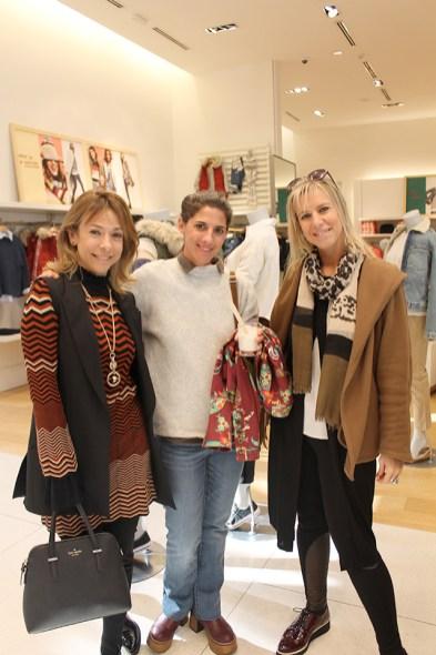 Debbie Goldfarb, Federica Cash y Mariana Blengio