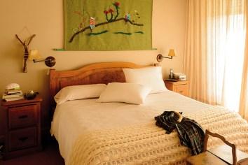 """""""Me encanta mi cuarto. Trabajar sobre la cama con música clásica u ópera de fondo"""""""