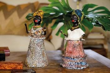 """""""Estas muñecas las busqué por todo Salvador de Bahía. Sabía que era algo típico pero ninguna me convencía, eran todas iguales, como hechas en serie. Hasta que di con estas, piezas únicas creadas por un colectivo del interior del estado"""""""