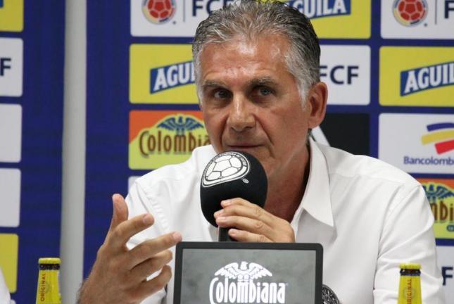 Queiroz habló de ausencias en lista de 40: Espinosa, Millonarios y más