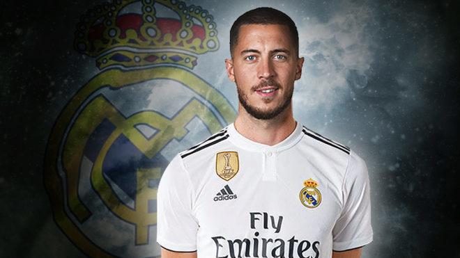 Oficial: Eden Hazard nuevo jugador del Real Madrid para las próximas cinco temporadas