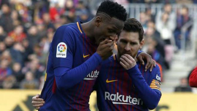 Yerry Mina, ante el reto más difícil de su carrera: frenar a su amigo Messi