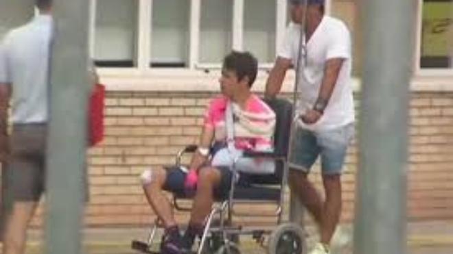 Rigoberto Urán sigue en cuidados intensivos en Barcelona