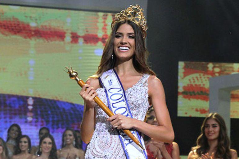 Señorita Colombia® en el Desfile de la Hispanidad